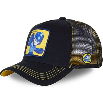 Capslab Mega Man HER2 Black Trucker Hat