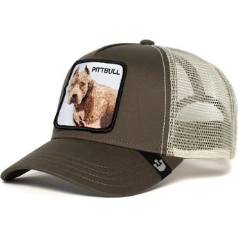Goorin Bros. Dog Pitbull Grey Trucker Hat