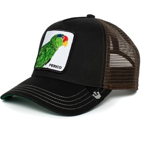 Goorin Bros. Parrot Perico Black and Brown Trucker Hat