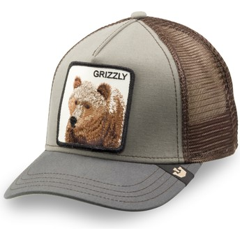 Goorin Bros. Youth Bear Little Grizzly Green Trucker Hat