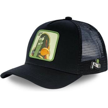 Capslab Pickle Rick CKL2 Rick and Morty Black Trucker Hat