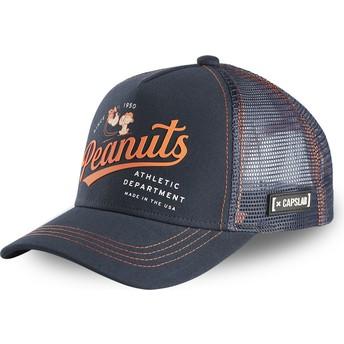 Capslab NAW2 Peanuts Navy Blue Trucker Hat