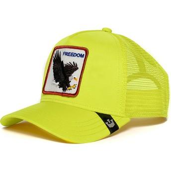 Goorin Bros. Eagle Freedom Yellow Trucker Hat