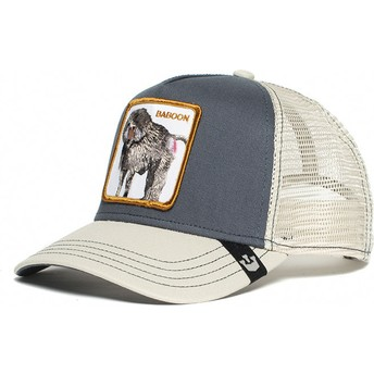 Goorin Bros. Baboon Buthead Grey and White Trucker Hat