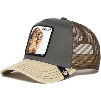 Goorin Bros. Lion Beast Affair Grey Trucker Hat