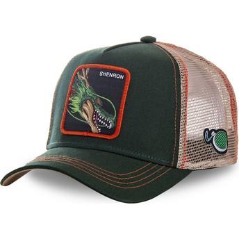 Capslab Youth Shenron KID_SHEN Dragon Ball Green Trucker Hat