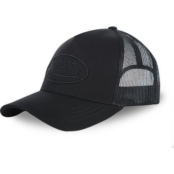 Von Dutch Youth KID_LOFB04 Black Trucker Hat
