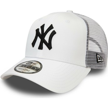 New Era 9FORTY Summer League New York Yankees MLB White Trucker Hat