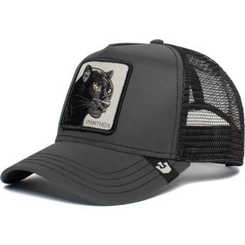 Goorin Bros. Panther Shine Bright Black Trucker Hat