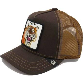 Casquette trucker marron pour enfant tigre Little Tiger Goorin Bros.