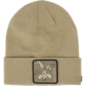 Capslab Wile E. Coyote BON COY1 Looney Tunes Brown Beanie