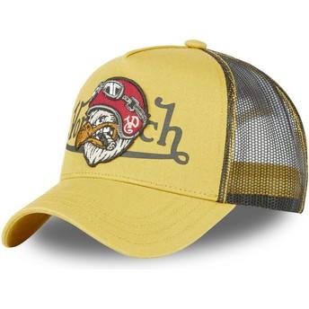 Von Dutch Eagle BIRD M Yellow Trucker Hat