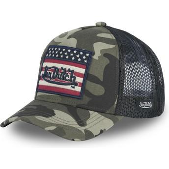 Von Dutch FLAG CK Camouflage Trucker Hat