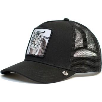 Goorin Bros. Silver Tiger Black Trucker Hat