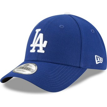 New Era Curved Brim 9FORTY The League Los Angeles Dodgers MLB Blue Adjustable Cap