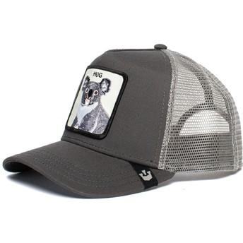 Goorin Bros. Koala Free Hug The Farm Grey Trucker Hat