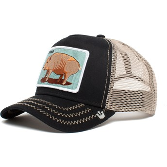 Goorin Bros. Pig Porker Bacon Bacon The Farm Black Trucker Hat