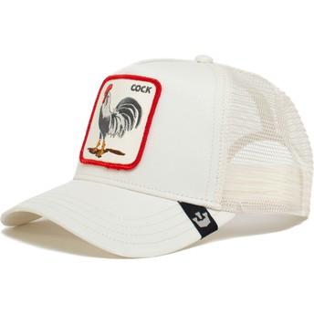 Goorin Bros. Cock Rooster The Farm White Trucker Hat
