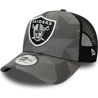 New Era A Frame Las Vegas Raiders NFL Camouflage and Black Trucker Hat