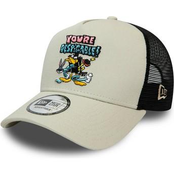 New Era Daffy Duck Character A Frame Looney Tunes Grey Trucker Hat