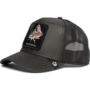 Goorin Bros. Moth Nocturnal Gimme The Light The Farm Black Trucker Hat