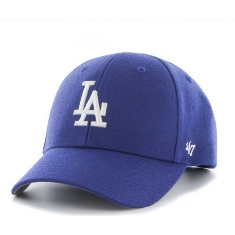 47-brand-curved-brim-los-angeles-dodgers-mlb-blue-cap