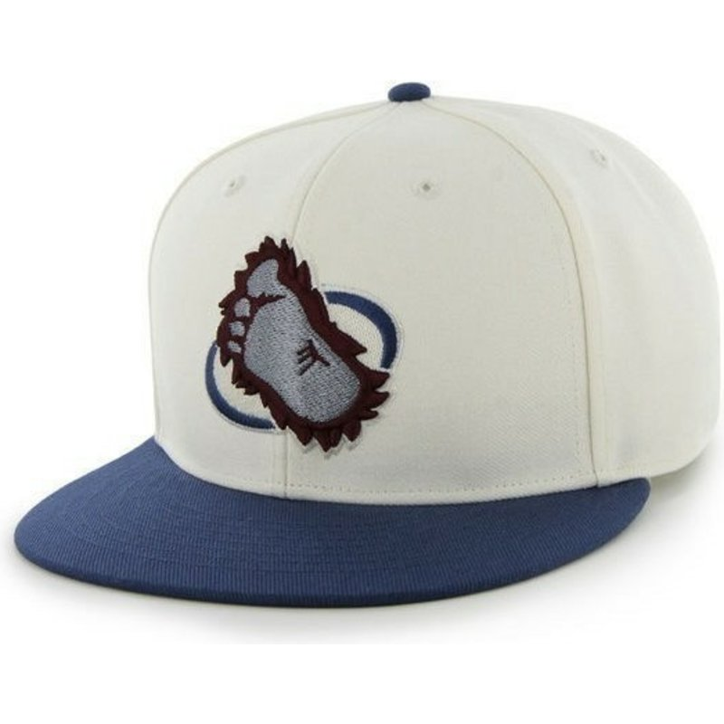 47-brand-flat-brim-colorado-avalanche-nhl-black-and-blue-snapback-cap