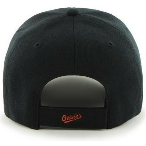 47-brand-curved-brim-mlb-baltimore-orioles-smooth-black-cap