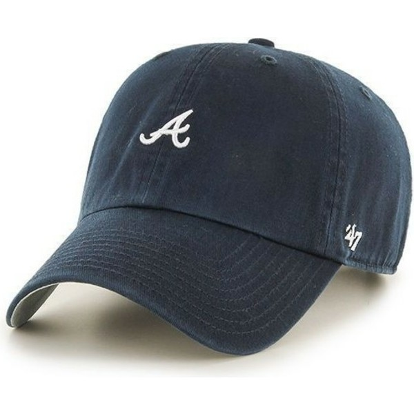 47-brand-curved-brim-small-logo-mlb-atlanta-braves-navy-blue-cap