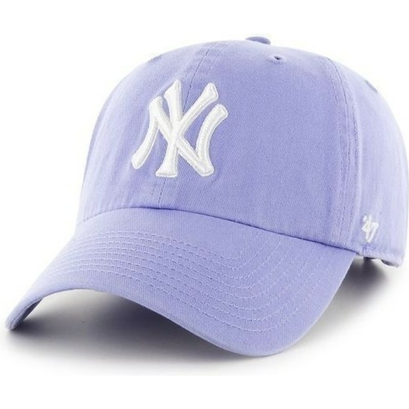 47-brand-curved-brim-large-front-logo-mlb-new-york-yankees-purple-cap